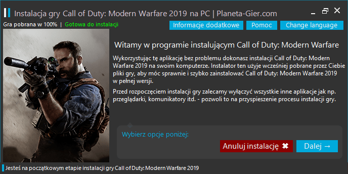 call of duty modern warfare do pobrania na pc