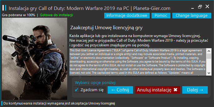 call of duty modern warfare 2019 pobierz