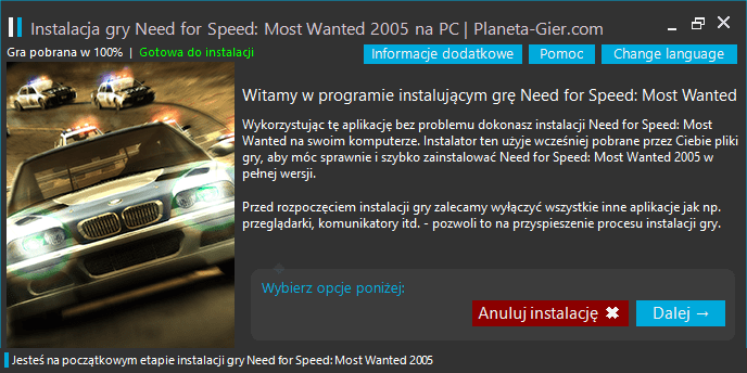 need for speed most wanted do pobrania na pc