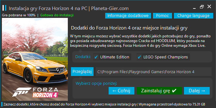 forza horizon 4 download pc pelna wersja