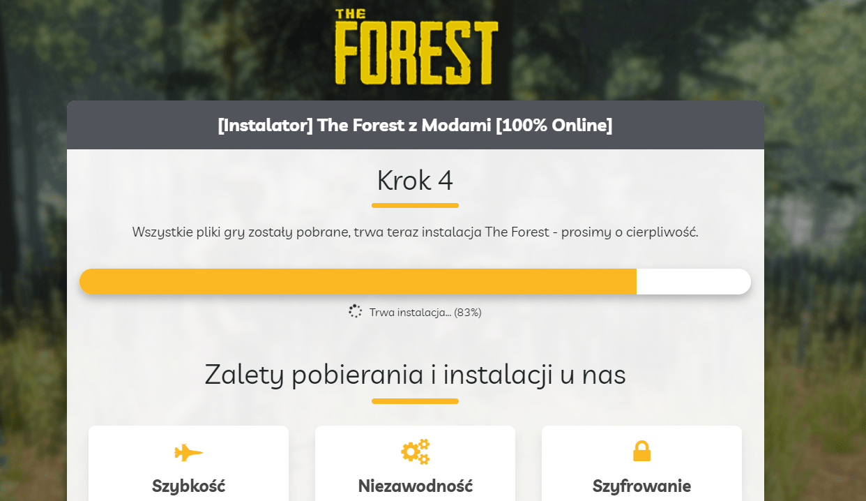 the forest do pobrania za free